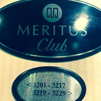 Photo taken at Meritus Club Lounge by Christina S. on 6/14/2014