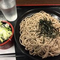 Photo taken at 本所そば 錦糸町店 by Osamu K. on 6/18/2016