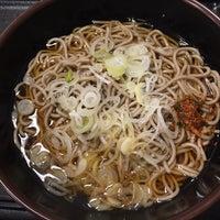 Photo taken at 本所そば 錦糸町店 by Osamu K. on 12/26/2015