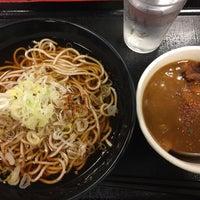 Photo taken at 本所そば 錦糸町店 by Osamu K. on 7/9/2016