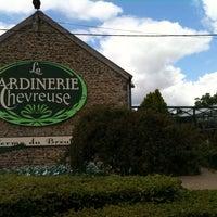 Photo taken at Jardinerie de Chevreuse by caribou l. on 8/10/2013