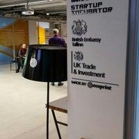 Photo taken at Tallinn Science Park Tehnopol HQ by Kaspars P. on 10/23/2015