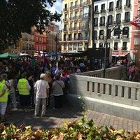 Photo taken at Plaza de Tirso de Molina by Diego G. on 9/8/2013