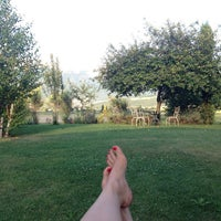 Photo taken at La Cascina di Opaco by Екатерина К. on 8/12/2014