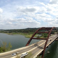 Photo taken at 360 Bridge (Pennybacker Bridge) by Mike B. on 3/30/2013