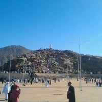 Photo taken at Arafah Mountain by Angky K. on 2/3/2013