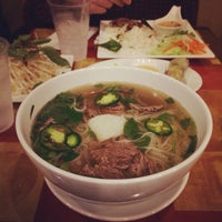 Photo taken at Pho Nom Nom by Chad A. on 1/11/2014