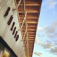 Photo taken at metro Vykhino by Eric on 4/8/2013