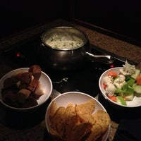 Photo taken at The Melting Pot by Mauricio P. on 2/14/2013