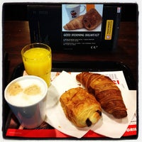 Photo taken at Brussels Airlines Business Lounge by Kris G. on 10/25/2012