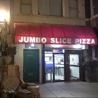 Photo taken at Jumbo Slice Pizza by Casey D. on 11/5/2012