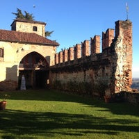 Photo taken at Castello di Moncrivello by Stefano S. on 12/29/2013