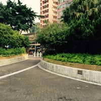 Photo taken at Nam On Street Sitting-out Area by Christine F. on 7/11/2015