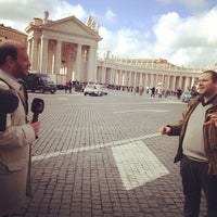 Photo taken at Piazza Pio XII by Luis R. on 3/9/2013