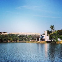 Photo taken at Lagoa da Pampulha by Luis R. on 5/5/2013