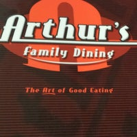 Photo taken at Arthur's Family Dining by Erin C. on 7/26/2013