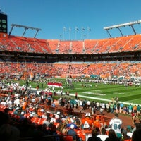 Photo taken at Hard Rock Stadium by Ralph C. on 11/25/2012