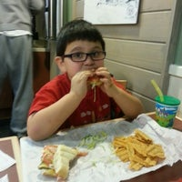 Photo taken at Jersey Mike's Subs by Pablo N. on 11/13/2013