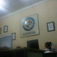 Photo taken at Kopegtel Telkom by Apriyanto D. on 12/11/2012