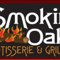 Photo taken at The Smokin' Oak Rotisserie & Grill by Katie S. on 3/20/2013