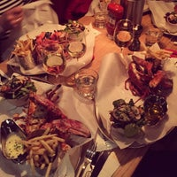 Photo taken at Burger & Lobster by Валерия💡 С. on 1/6/2015
