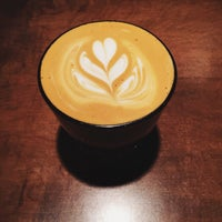 Photo taken at Transcend Coffee by Le J. on 2/22/2015