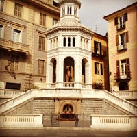 Photo taken at Piazza della Bollente by Christian M. on 4/6/2013