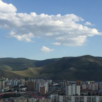 Photo taken at Ulaanbaatar by Victoria B. on 8/2/2016