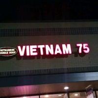 Photo taken at Vietnam 75 by Justin K. on 11/3/2012