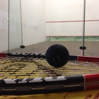 Photo taken at Racket Sports by Fedro P. on 1/23/2014