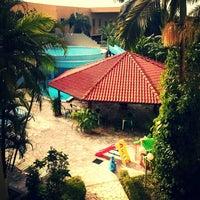 Photo taken at Hotel Vilage Inn by Grazziela D. on 5/18/2013