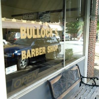 Photo taken at Bullock's Barber Shop by Andrew S. on 8/26/2013