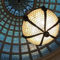 Photo taken at Tiffany Dome At The Chicago Cultural Center by Daniel R. on 4/7/2018