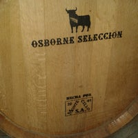 Photo taken at Bodegas Solaz Osborne by David G. on 2/22/2014