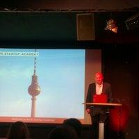 Photo taken at Berlin Startup Academy by Alex K. on 3/22/2013