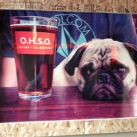 Photo taken at O.H.S.O. Eatery + nanoBrewery by Alondra P. on 12/30/2012