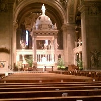 Photo taken at Basilica of Saint Mary by Paul on 7/8/2013