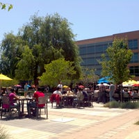 Photo taken at Googleplex - Big Table Cafe by Vilius K. on 5/14/2013