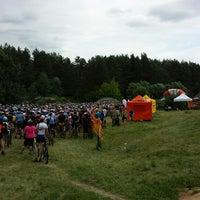 Photo taken at Sauletekio / Plytines Miskas by Vilius K. on 6/16/2013