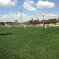 Photo taken at VCF- Ciutat Esportiva De Paterna by Cristina R. on 5/25/2014