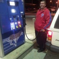 Photo taken at Exxon by Mary E. M. on 10/21/2012