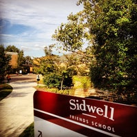 Photo taken at Sidwell Friends School by Christylez B. on 10/12/2012
