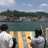 Photo taken at 福本渡船 向島側フェリーのりば by saku321 on 6/9/2018