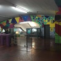 Photo taken at Estación Av. La Plata [Línea E] by Vico V. on 7/4/2016