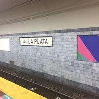 Photo taken at Estación Av. La Plata [Línea E] by Vico V. on 2/1/2017
