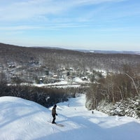Photo taken at Holiday Valley Resort by Bob T. on 1/27/2013