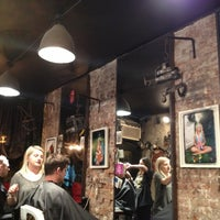 Photo taken at Mudhoney Salon by Alex A. on 12/22/2012