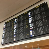 Photo taken at Brussels Airport (BRU) by Tanguy P. on 2/13/2013