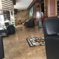 Photo taken at Çağyiğit Hotel by Ruslan R. on 4/10/2017