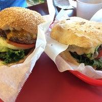 Photo taken at Phyllis' Giant Burgers - San Rafael by Samantha L. on 4/21/2014